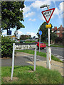 TA0288 : Signs, Stepney Drive by Pauline Eccles