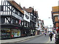 SU1429 : Minster Street, Salisbury by Malc McDonald