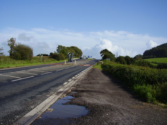 A35  looking up Chideock Hill