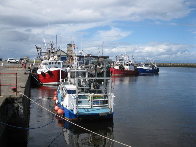 Fishing Boats at Girvan Harbour