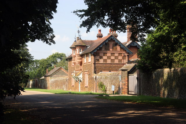 Estate cottages, Sandringham