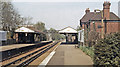 TQ1563 : Claygate station, 1984 by Ben Brooksbank