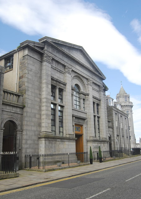 Former Trinity Free Church, Crown Street