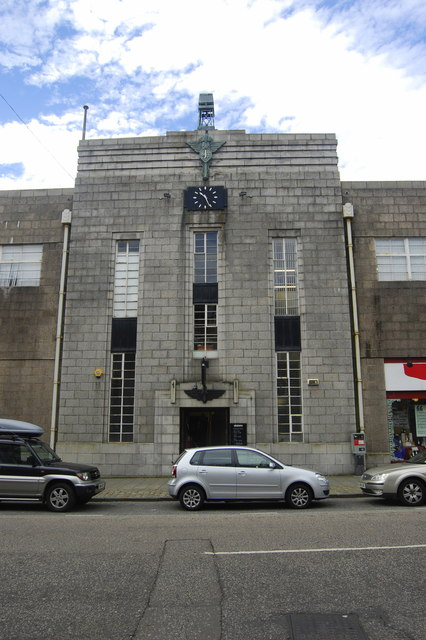 Jackson's Garage, Bon Accord Street, Aberdeen