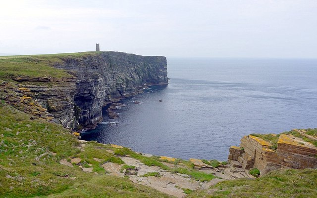Kitchener Memorial, Marwick Head from the north
