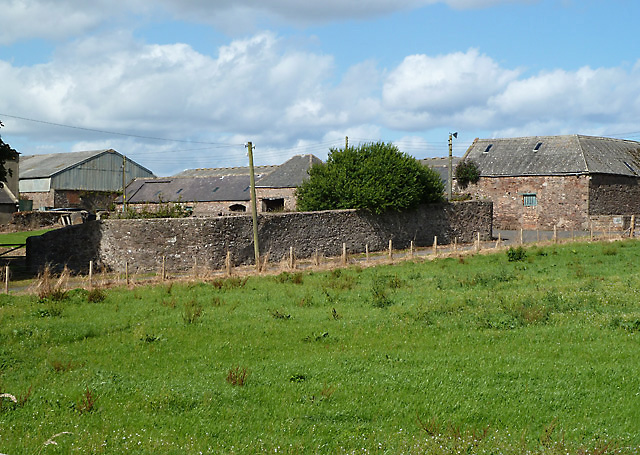 Farm buildings at Fairnieside