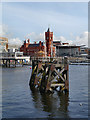 ST1974 : Cardiff Bay, Pierhead Building by David Dixon
