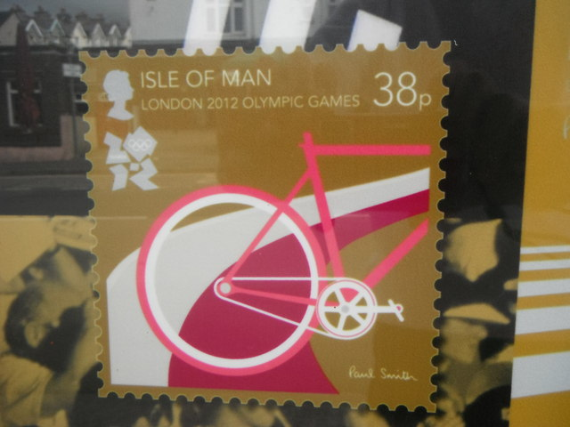 A stamp of approval from the Isle of Man