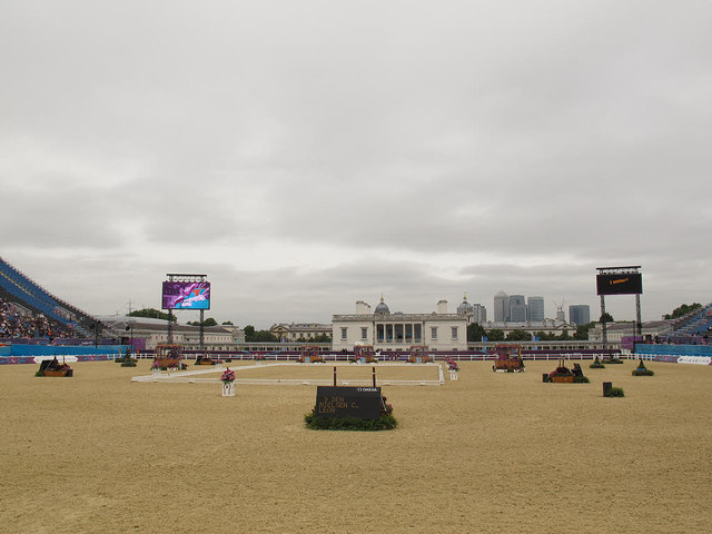 Olympic arena at Greenwich Park