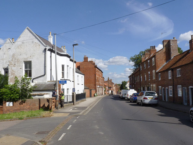 Millgate, looking north east from King Street