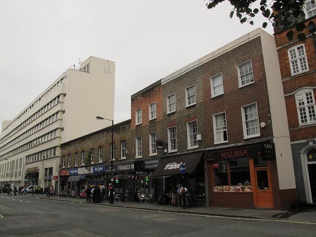 Elizabeth Street shops