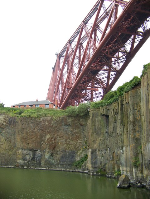Forth Bridge from the Deep Sea World, North Queensferry