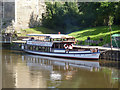 SK7953 : MV Sonning at Newark Castle  by Alan Murray-Rust