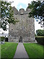 J1811 : The western facade of Carlingford Abbey by Eric Jones