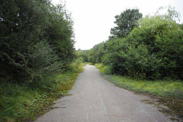 Bridleway Near Bateswood