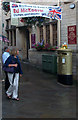 ST8260 : Gold Post Box for Ed McKeever by John Sparshatt