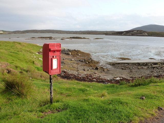 Island Flodda: postbox № HS7 79