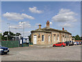 SK7954 : Newark Castle Station  by Alan Murray-Rust