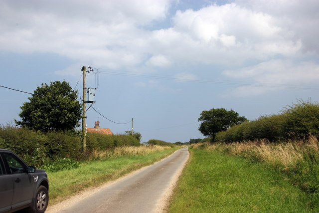 The road to Burnham Market