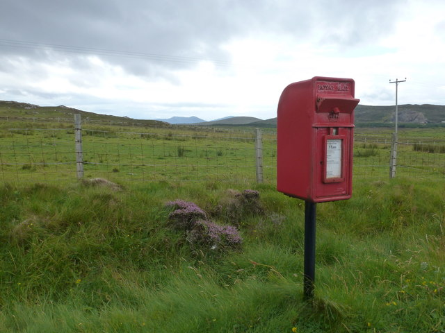 Clachan Sands: postbox &#8470; HS6 23