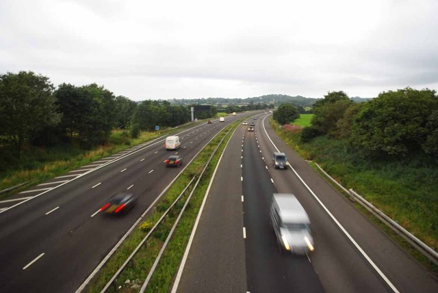 M6 From Hungerford House Farm Bridge