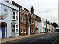 SU5832 : Broad Street, Alresford, Hampshire by Christine Matthews