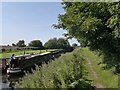 SK6683 : Approaching Forest Lock, Chesterfield Canal by Chris Morgan