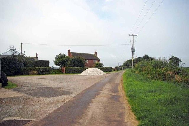 Footpath at Stoney Low Farm