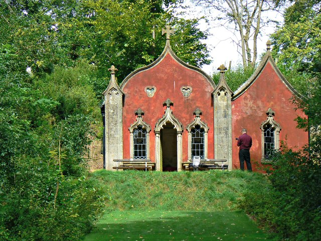 The Red House, Rococo Garden, Painswick