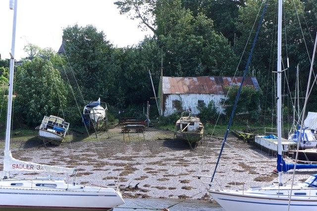 Boatyard, Caernarfon