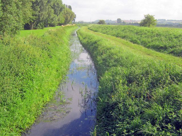 Drainage ditch at North Hykeham