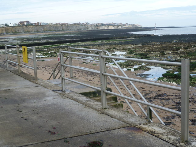 View from seafront near Foreness Point