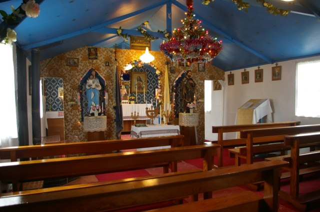 Interior of the Ukrainian Chapel