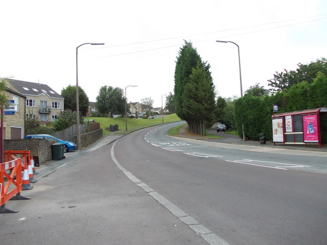 Stony Lane - viewed from Cross Roads