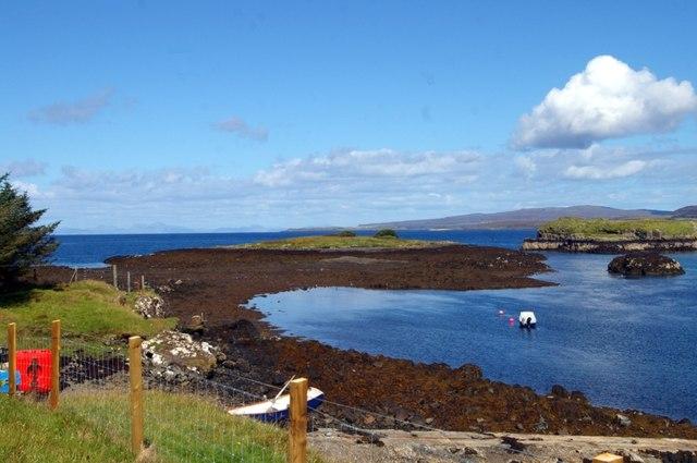 Eilean Traigh at low spring tide