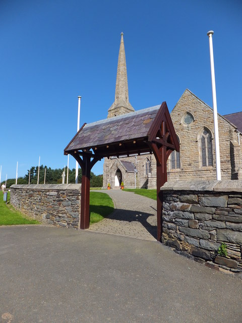 Lych gate at St John's Tynwald