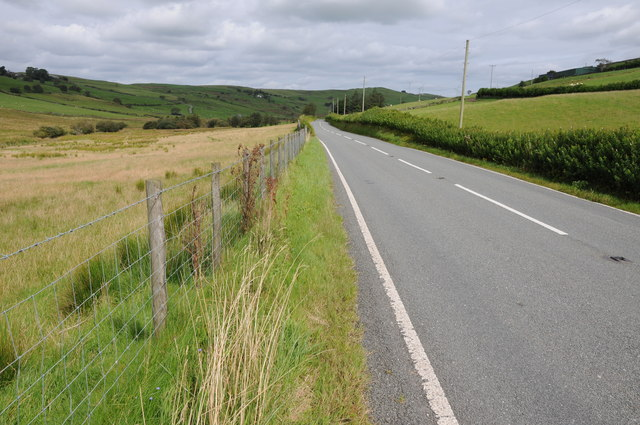 The B4501 near Gellioedd