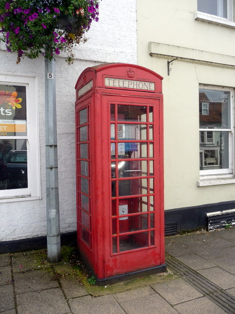 Red Telephone Box, West Street, Alresford, Hampshire