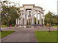 ST1877 : Wales National War Memorial, Alexandra Gardens by David Dixon