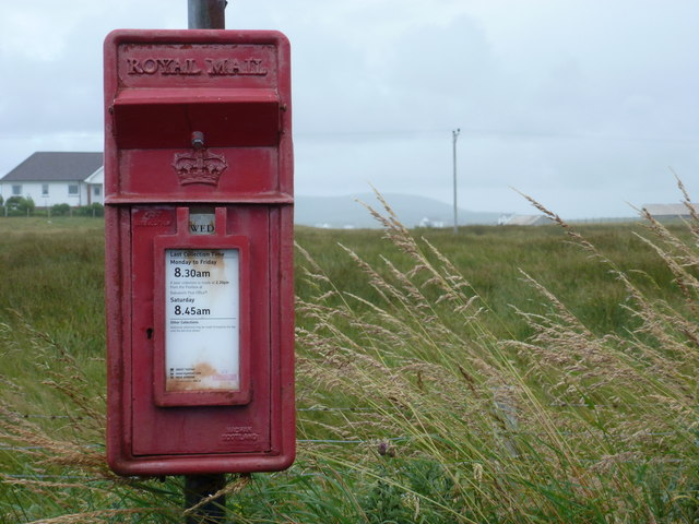 Paiblesgarry: postbox № HS6 33