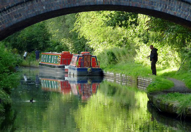 Grand Union Canal at Catherine de Barnes, Solihull