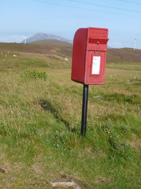 Cladach Baleshare: postbox № HS6 39