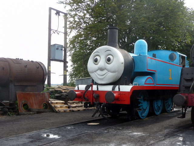 Thomas the Tank Engine, Ropley Station, Watercress Line, Hampshire