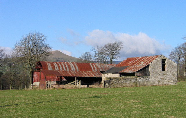 Barns near Hope railway station