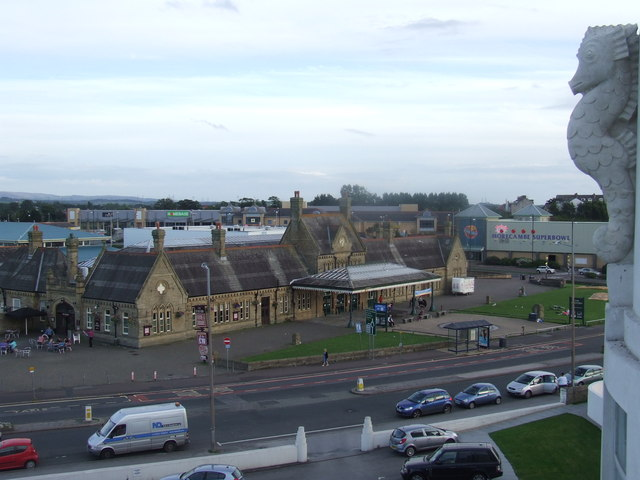 Old railway station, Morecambe