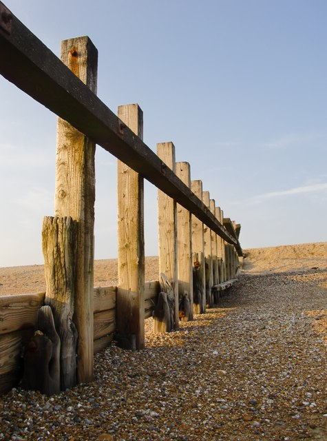 Groyne, west of Jury's Gap