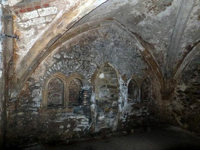 Medieval Cellar Under Salutation 169 Paul Farmer Cc By Sa