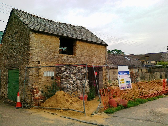 Barn conversion, Back Lane, Fairford