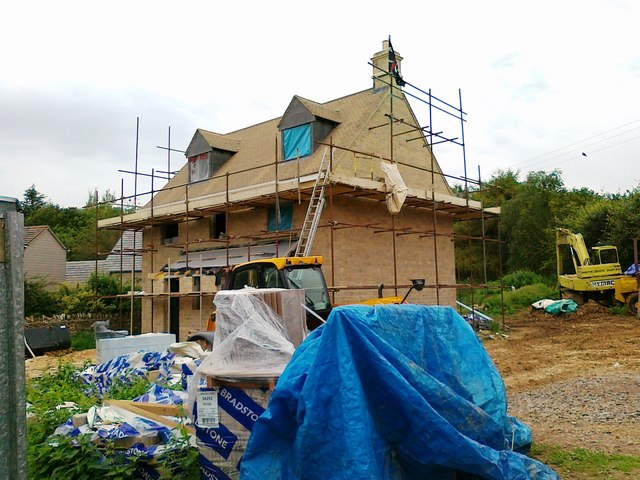 New house, Bisley
