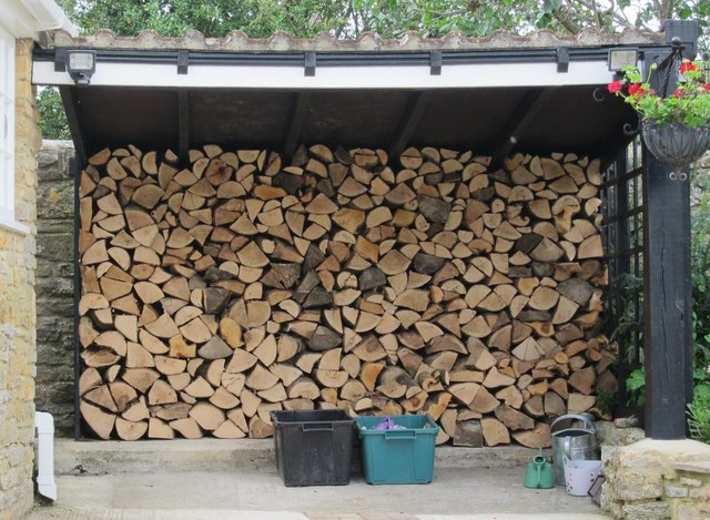 Wood Pile at East Coker
